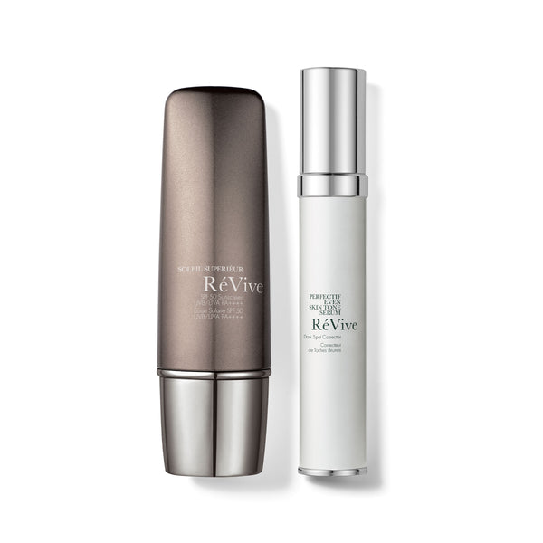 Perfectif Even Skin Tone Serum + Soleil Superiéur / RéNew & Protect Duo
