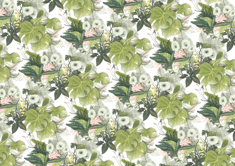 Father Rabbit Stationery | Wrapping Paper | Botanical Jungle