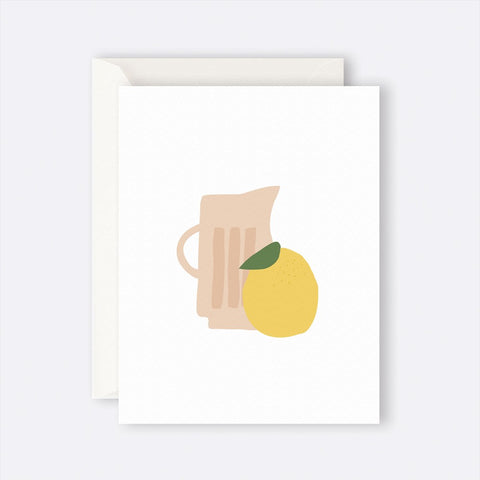 Father Rabbit Stationery | Card | JUG WITH LEMON