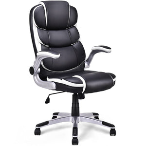 Giantex PU Leather High Back Executive Office Chair