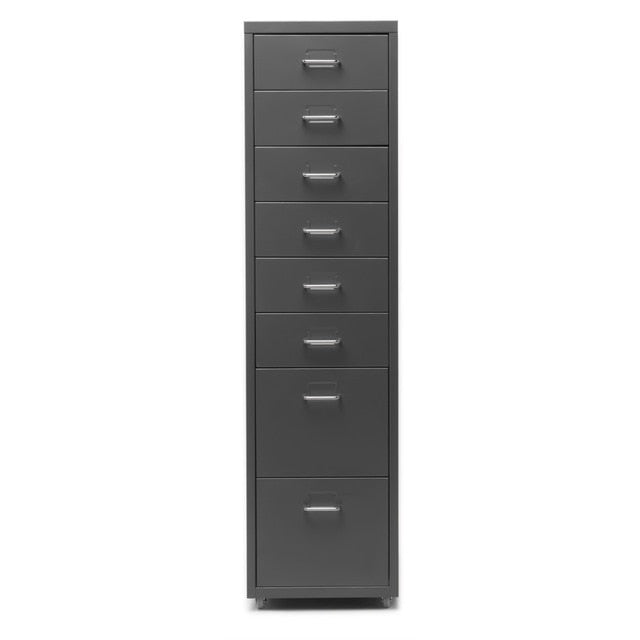 iKayaa Mobile Steel File Storage Cabinets
