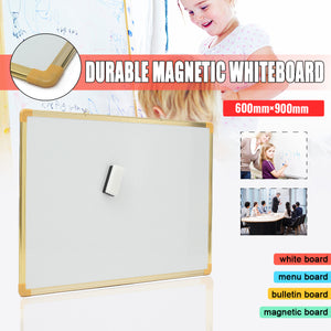 "35x23"" Inch DOUBLE Side Magnetic Dry Erase Writing Whiteboard"