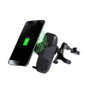 Car Mount Wireless Charger Dock for Mobile Cell Phones