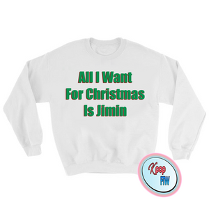 "[BTS] ""All I want for Christmas is Jimin' Sweater"