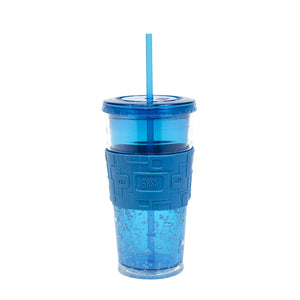 Blue 24 Oz Gel Chiller (With Band) at Cool Gear Tumblers