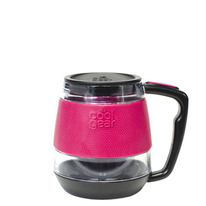 Pink 12 Oz Coffee/Tea Mug with Infuser at Cool Gear Coffee Tea