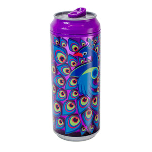 Bright Purple / Proud As A Peacock 16 Oz coolgearcan at Cool Gear Coolgearcans