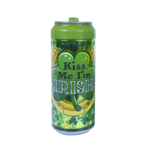 Kiss Me I'M Irish Can 16 Oz St. Patrick's Day coolgearcan at Cool Gear St. Patrick's