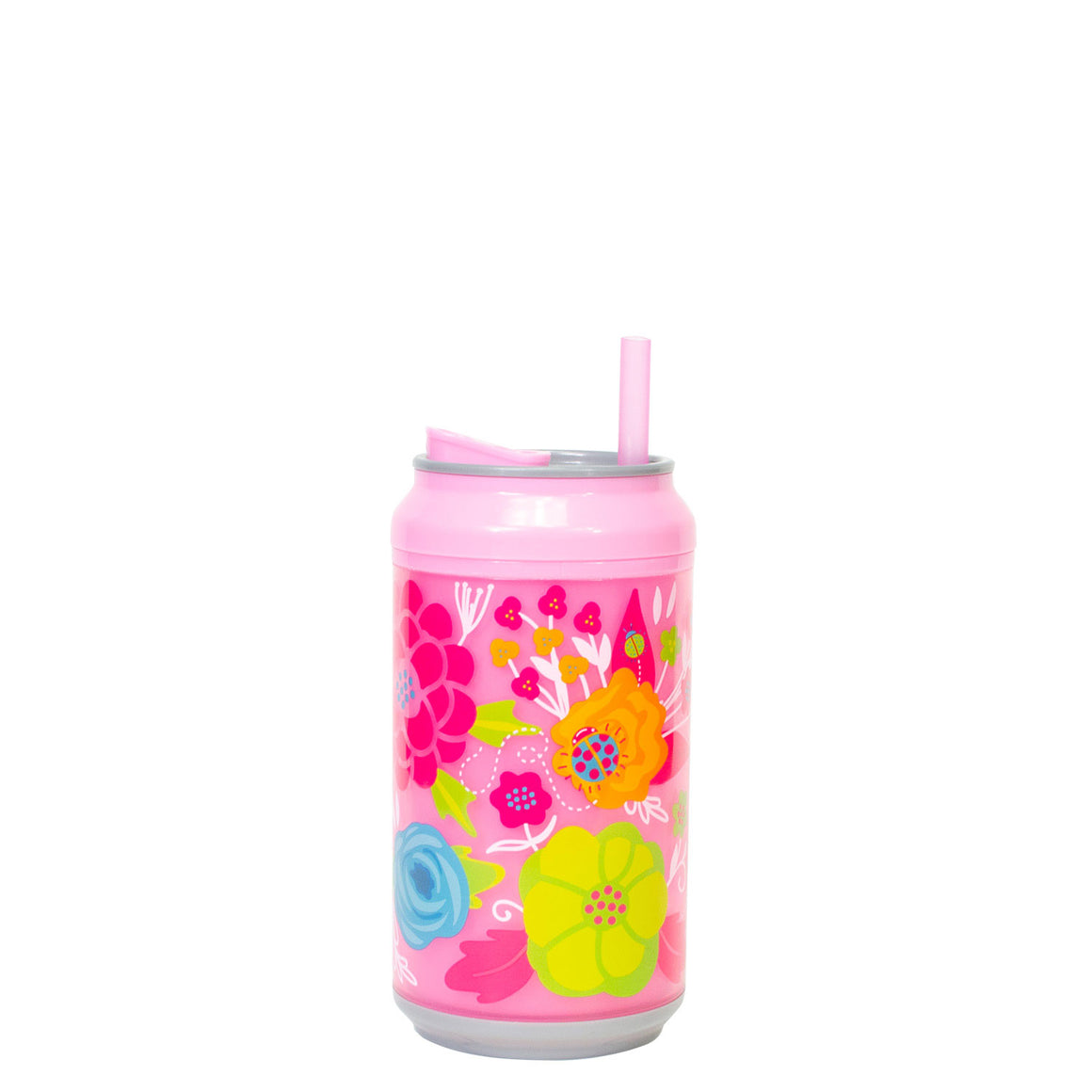 Cool Gear | 12 Oz Easter Coolgearcan (with Straw) in Pastel Blue / Chicks