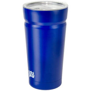 Dark Blue Cayambe 20 Oz Tumbler With Lid at Cool Gear Tumblers,Stainless Steel