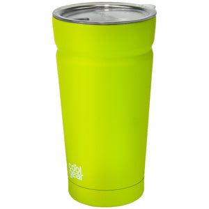 Lime Green Cayambe 20 Oz Tumbler With Lid at Cool Gear Tumblers,Stainless Steel