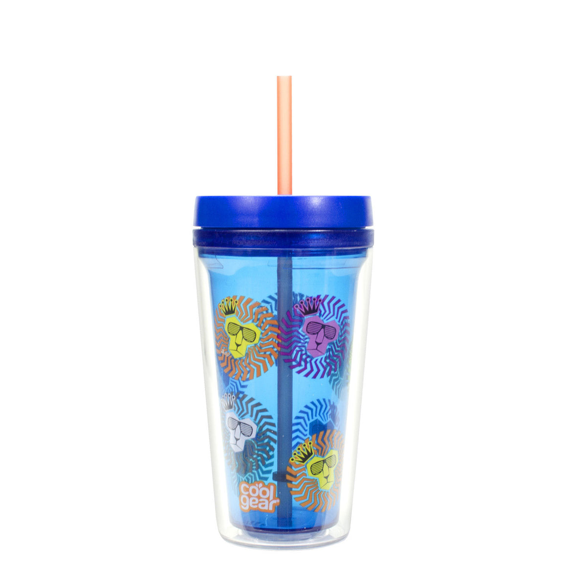 Lime Green Callisto 12 Oz Printed Chiller at Cool Gear Tumblers