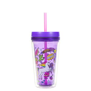Purple Callisto 12 Oz Printed Chiller at Cool Gear Tumblers