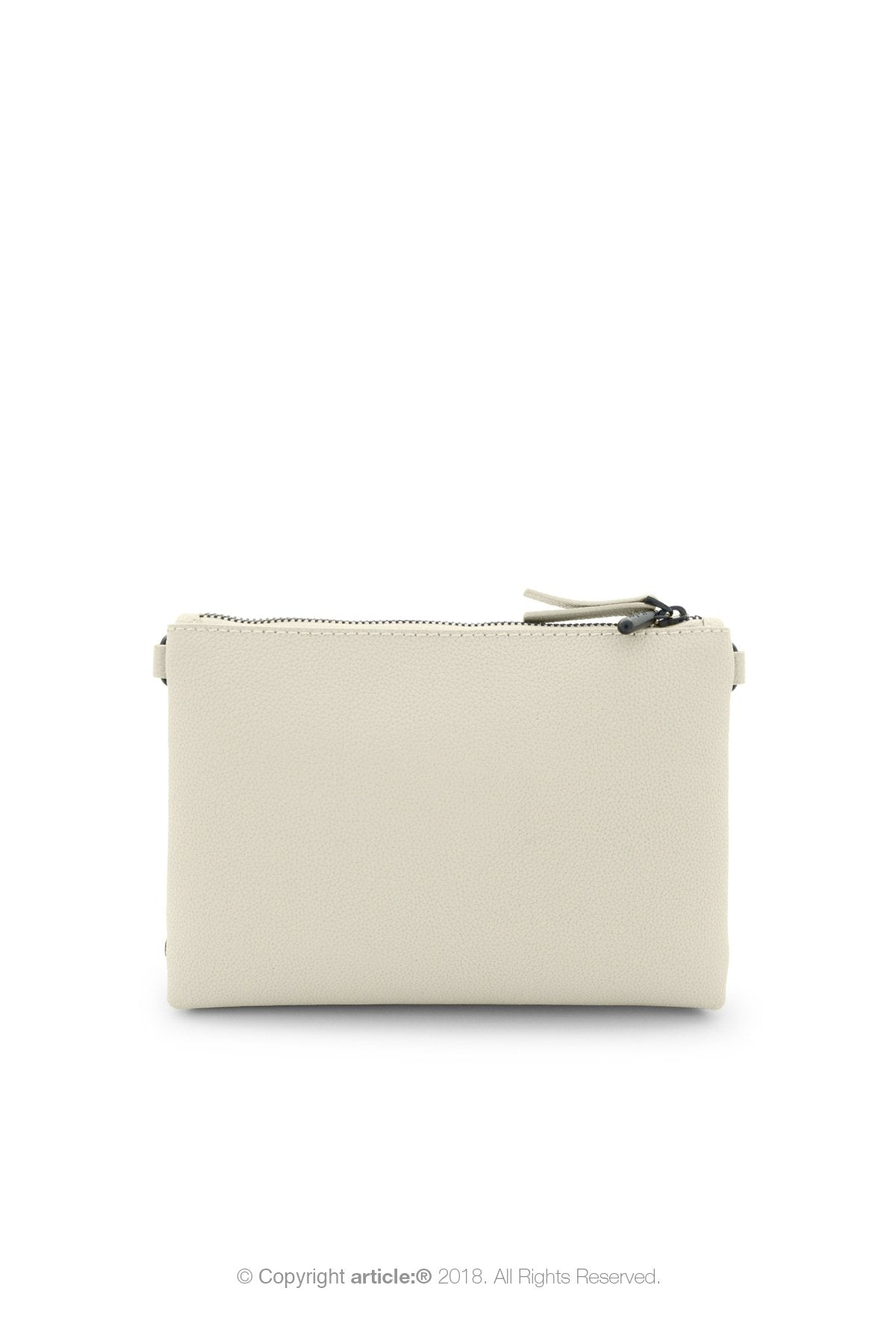 article: #007 Pochette Gusset - Oyster