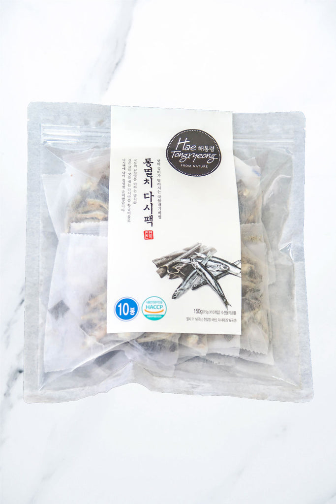 [Hae Tongryeong] Anchovy Dashima Broth Pack