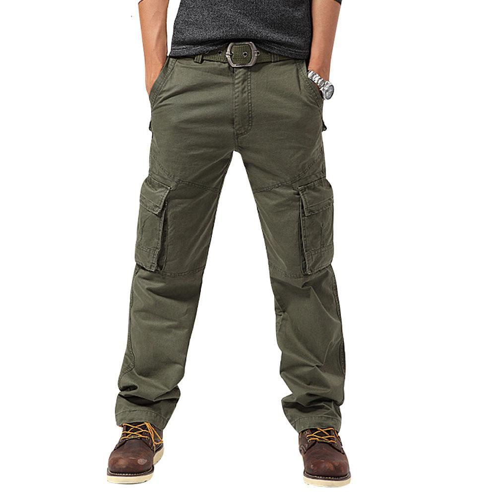 Windproof Multi-pockets Camping Trousers