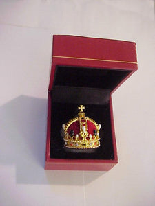 British Imperial Miniature Crown Queen Elizabeth in presentation case