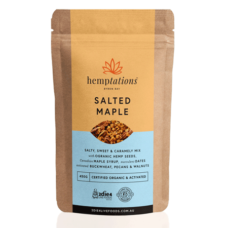 Activated Organic Hemptations Salted Maple