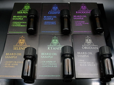 Beard Oil Sample Bundle - 6 x 5ml
