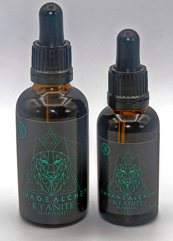 Kyanite Beard Oil - Grapefruit, May Chang & Lemongrass