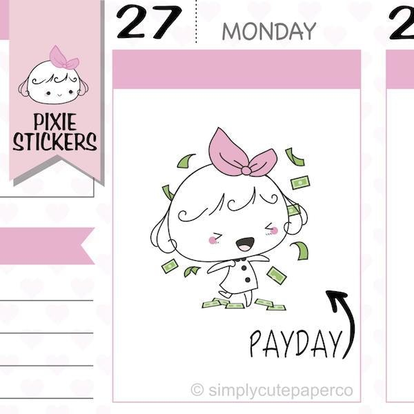 P049 | payday stickers TwinkleTheUnicorn