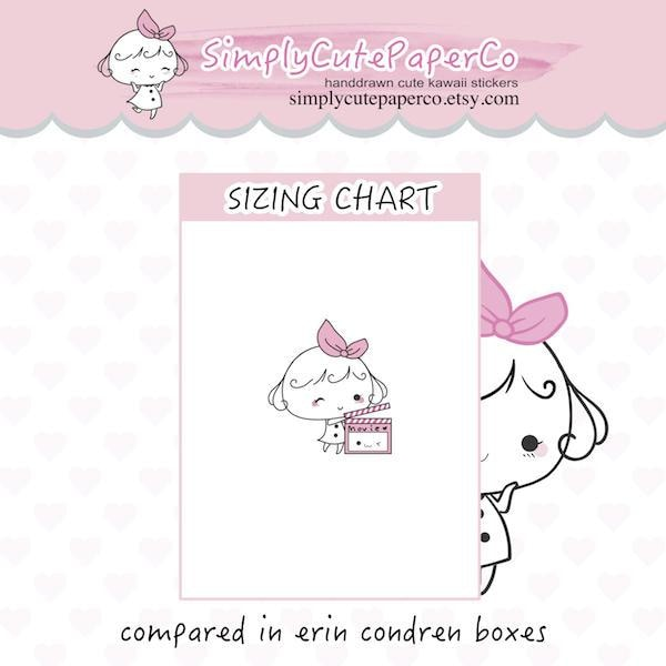 P091 | movie planner stickers TwinkleTheUnicorn