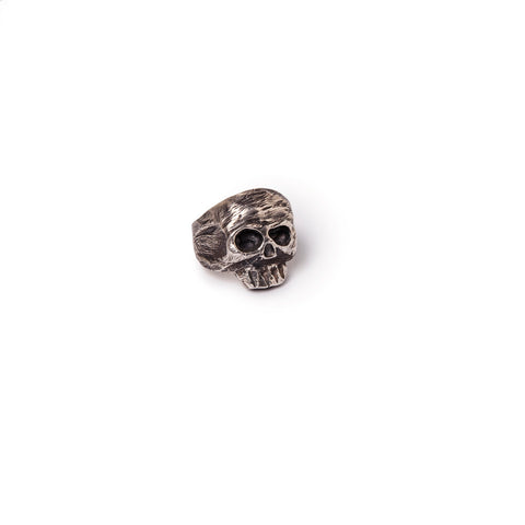 Men's big skull ring