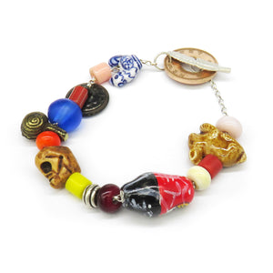 Mixed bead bracelet