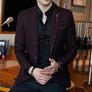 Men's Suit Jacket - Planet service