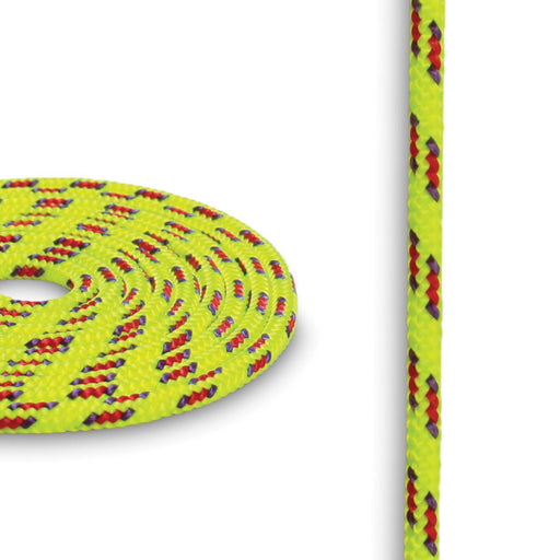3mm Cord - Yellow w/ Purple & Red