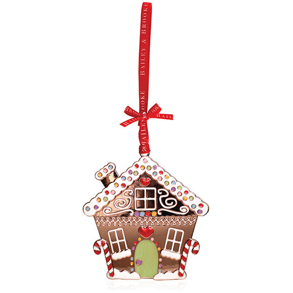 Sparkle Gingerbread House Decoration