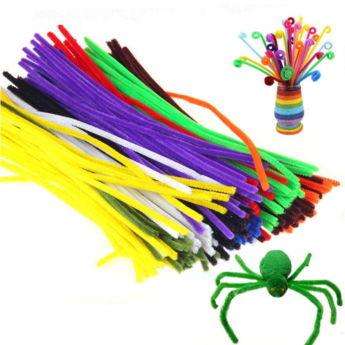 Mealtime Play Plush Sticks - 100 Kids Plush Sticks