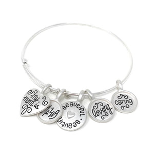 D335, R512 My Loving Mother Charm Bracelet