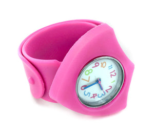 E723, E714 CTR Slap Wrist Watch (neon pink)