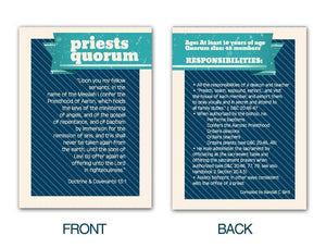 G443 Priests Quorum Pocket Card