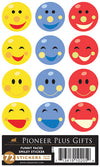 B834 Sticker Funny faces / 6 pk