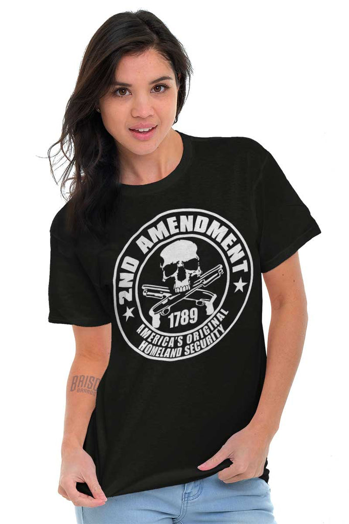 Male_Black1| Original Homeland Security T-Shirt|Tactical Tees