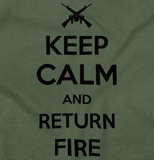 MilitaryGreen|Return Fire T-Shirt|Tactical Tees