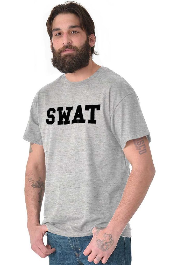 Male_SportGrey1|SWAT Logo T-Shirt|Tactical Tees