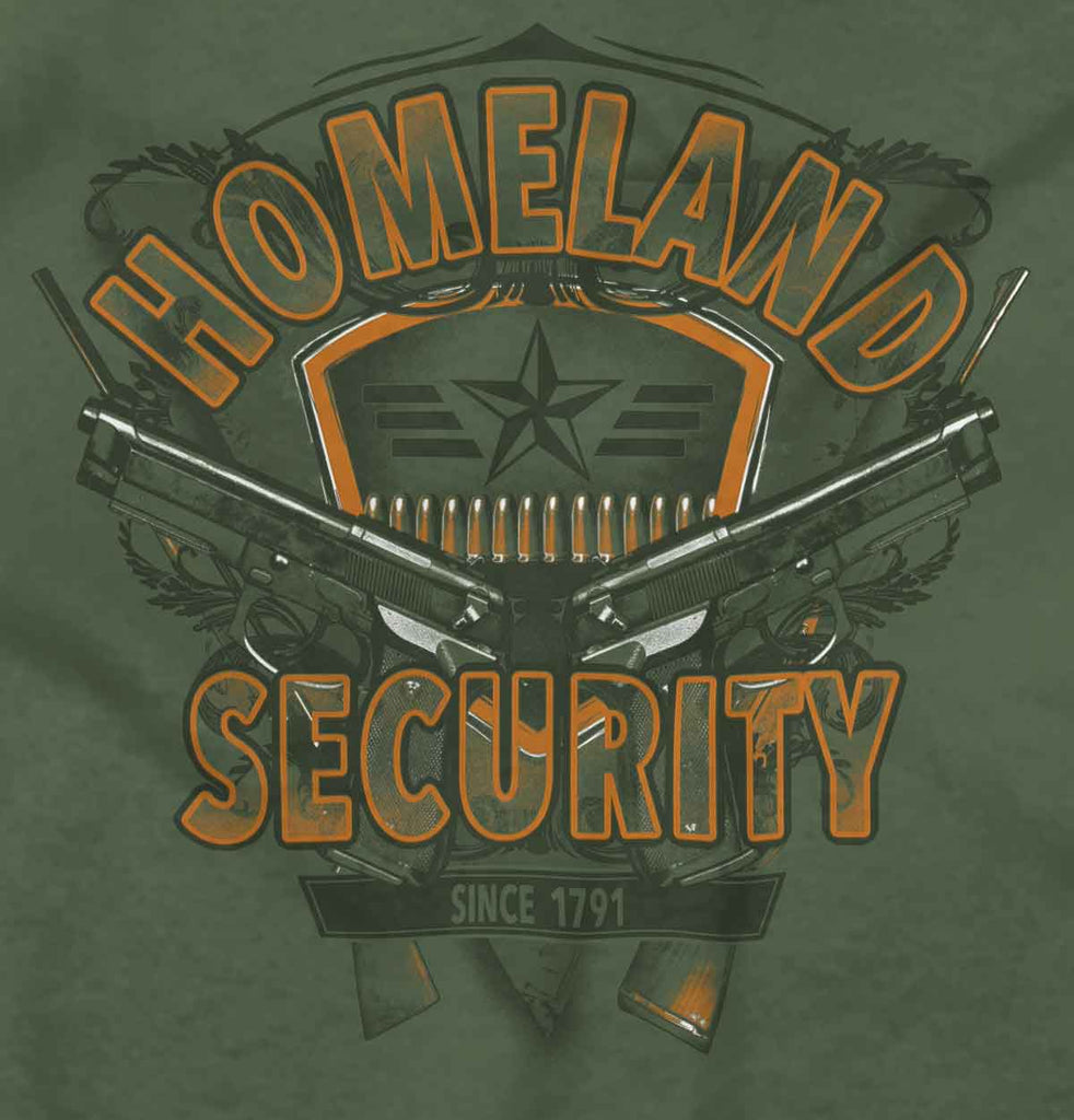 MilitaryGreen2|Homeland Security Hoodie|Tactical Tees