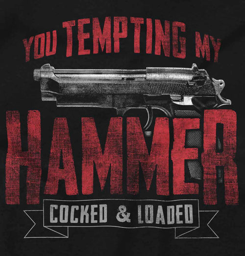 Black2|You Tempting My Hammer Sleeveless T-Shirt|Tactical Tees