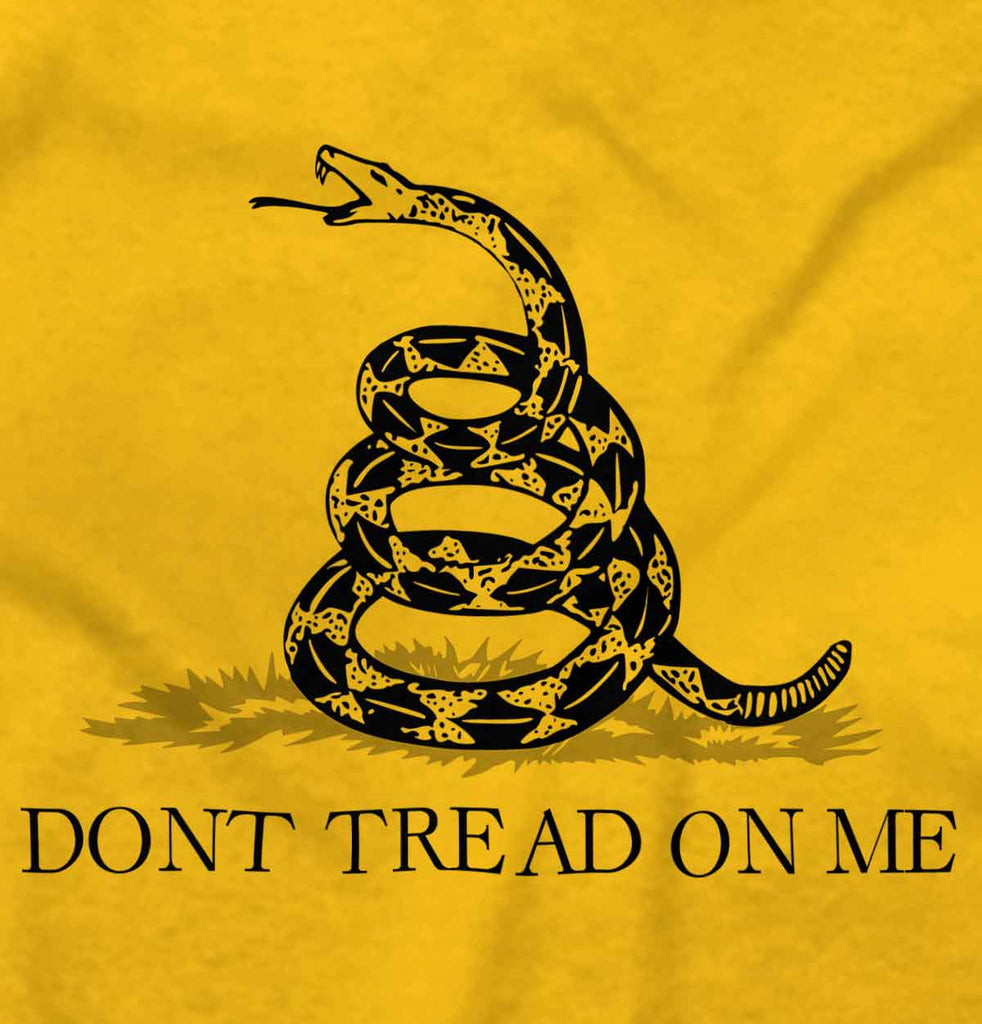 Gold2|Don't Tread On Me Hoodie|Tactical Tees