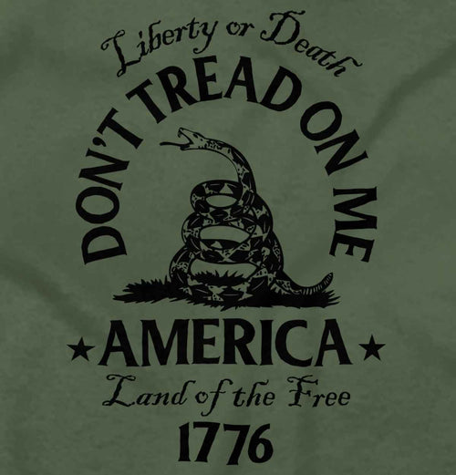 MilitaryGreen|Dont Tread on Me T-Shirt|Tactical Tees