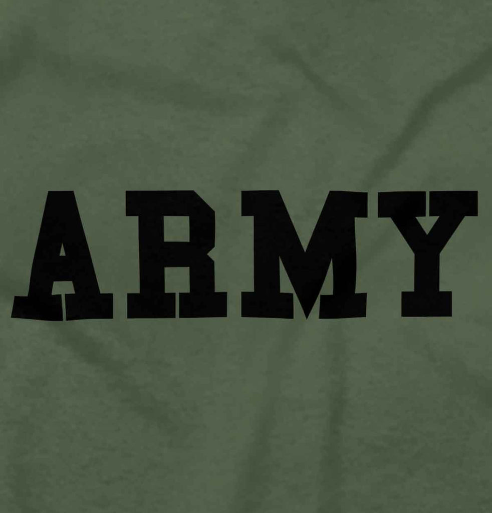MilitaryGreen2|Army Logo Crewneck Sweatshirt|Tactical Tees