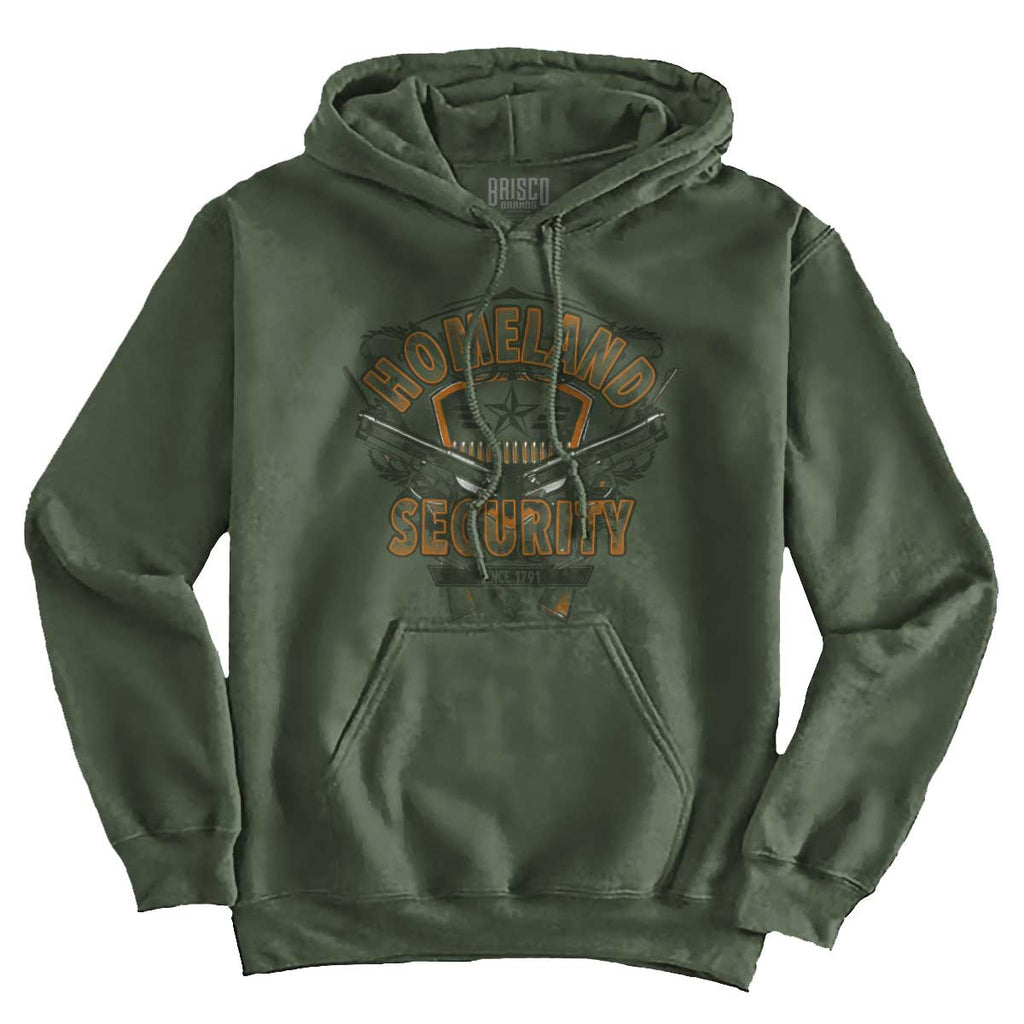 MilitaryGreen|Homeland Security Hoodie|Tactical Tees