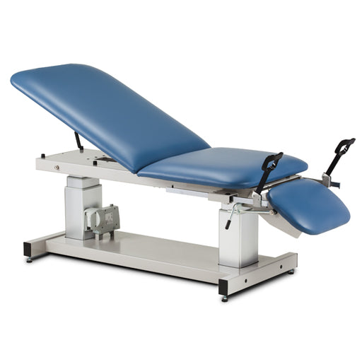 Clinton 80069 Ultrasound Table with Stirrups - New