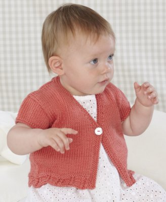 Sublime Book 696 - Design 8 - Short-Sleeved Cardigan