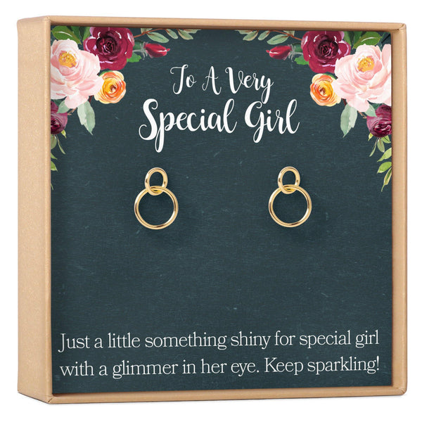 Gifts for Girls Earrings - Dear Ava, Jewelry / Earrings