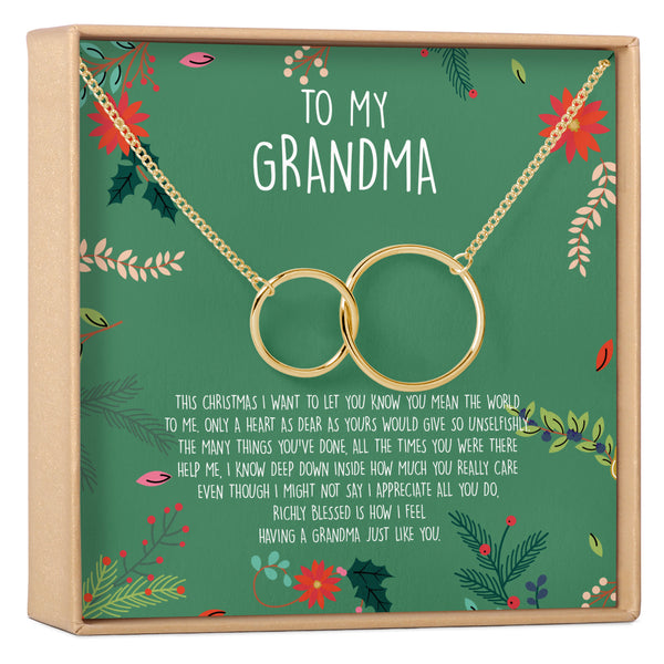 Christmas Gift for Grandmother Necklace - Dear Ava, Jewelry / Necklaces / Pendants