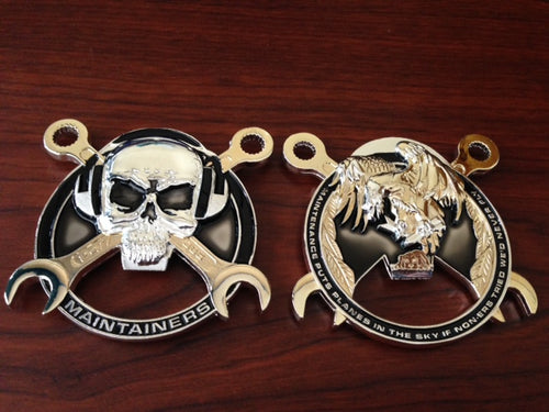 Maintainer Nation Challenge Coin